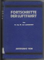 Flugzeug Fortschritte Der Luftfahrt Jahrgang 1926 Avion Allemande Deutsch - Old Books