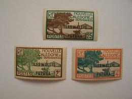France Nouvelle Calédonie Iles Wallis Et Futuna Neufs - Ungebraucht