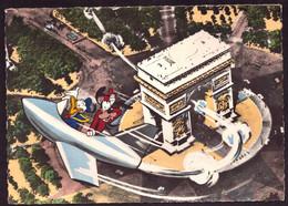 AK 006716 DISNEY - Donald & Goofy & Paris - Altri