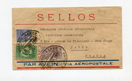 !!! LIGNE MERMOZ, LETTRE PAR AVION DE RIO POUR PARIS DU 5/7/1930, VIA  AEROPOSTALE - Airmail