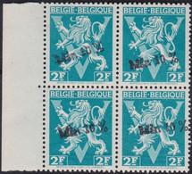 Belgie   .   OBP  .    724L Blok 4    .   **    .   Postfris     .  /  .   Neuf  SANS Charnière - Nuovi