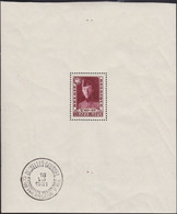 Belgie   .   OBP  .    Blok 3  Zegel **  (2 Scans)     .   *   .   Ongebruikt Met Gom    .  /  .   Neuf  Avec Gomme - Blocks & Sheetlets 1924-1960