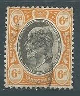 Transvaal YT N°154 Roi Edouard VII Oblitéré ° - Transvaal (1870-1909)