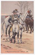 8e REGIMENT DE CAVALERIE - Officier - 1791 Signé Pierre Albert LEROUX - Reggimenti