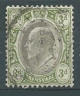 Transvaal YT N°152 Roi Edouard VII Oblitéré ° - Transvaal (1870-1909)