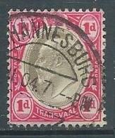Transvaal YT N°165 Roi Edouard VII Oblitéré ° - Transvaal (1870-1909)