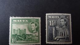 1943 Yv 193-194 MNH B25 - Malta