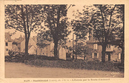48 - N°75829 - NASBINALS - L'Entrée Par La Route D'Aumont - Otros Municipios