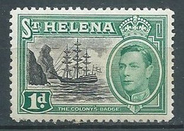 Sainte-Hélène YT N°118 Roi George VI Neuf ** - St. Helena