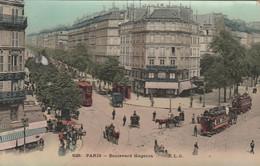 REF.AG3 . CPA . 75 . PARIS . BOULEVARD MAGENTA - Sin Clasificación