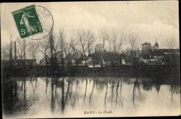 CPA Rans Jura, Le Doubs, Blick Auf Den Ort - Other Municipalities