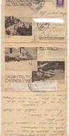 1941 PASSIGNANO SUL TRASIMENO  LETTERA ILLUSTRATA - Entero Postal