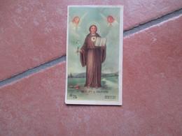 Immagine Sacra S.Nicolaus A Tolentino Edizione AR Dep. Z/198 Al Verso Biografia San Nicola Da Tolentino - Devotion Images