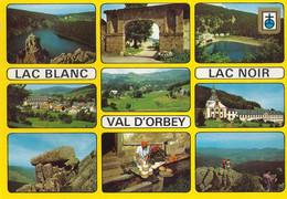 *CPM  - 68 - ORBEY - Vallée Verte Des Vosges - Les Lacs Blanc, Noir Et D'Orbey - Multivue - Orbey