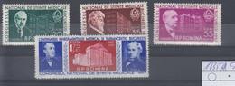 Rumänien Michel Cat.No. Mnh/**  1635/1638 - Unused Stamps