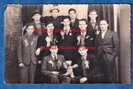 CPA Photo - RIS ORANGIS - Portrait De Garçon Conscrits - 1936 - Costume Mode Ours En Peluche - Ris Orangis