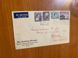 Lettre De 1959 Australie Pour Nouvelle Caledonie - Storia Postale