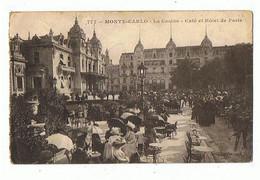 MONACO - Monte Carlo, Café De Paris, Cachet Hôpital Militaire Belge De Saint Jean Cap Ferrat - 713 - Bars & Restaurants
