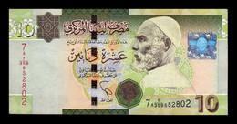 Libia Libya 10 Dinars 2011 Pick 78 BC/MBC F/VF - Libye