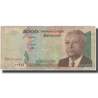Billet, Cambodge, 5000 Riels, 2007, KM:55d, TB - Cambodia