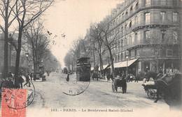 75-PARIS LE BOULEVARD SAINT MICHEL-N°C-4372-G/0089 - Sonstige