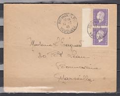 Brief Van Avignon Vaucluse Naar Marseille - Storia Postale