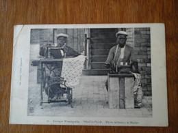 Afrique Congo Français Brazzaville élèves Tailleur Collection Leray Cliché Augouard - Brazzaville