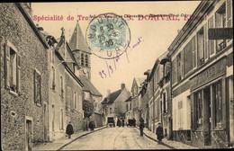 CPA Dampierre Yvelines, Un Rue - Other Municipalities