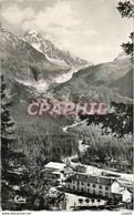 CPM Haute Savoie La Gare Le Glacier Et Le Chardonnet - Unclassified