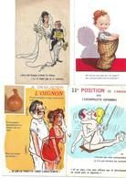 Lot  19 Cartes Humour - Humor