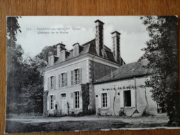 18 Cher Nohant-en-Gracay Château De La Roche édition Porcheron Très Bon état - Other Municipalities