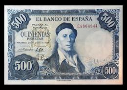 # # # Banknote Spanien (Spain) 500 Pesetas 1954 UNC # # # - 500 Pesetas