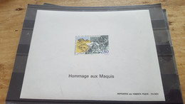 LOT542218 TIMBRE DE FRANCE NEUF** LUXE FEUILLET GOMME N°2876 VALEUR 150 EUROS - Pruebas De Lujo