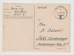 """Deutsches Reich (Feldpost) - 1941 - Feldpost-Vordruckkarte K1 """"FELDPOST"""" (2754) - Briefe U. Dokumente"""