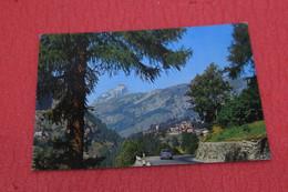 Aosta Valtournanche Scorcio Con Il Cervino 1973 + Auto - Otras Ciudades