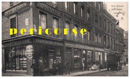 08  Mézières  Librairie Papeterie Rue Monge - Other Municipalities