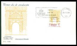 Spanien 20-2-1985 FDC 500 Jahre Santa-Cruz-Kollegium Der Universität Valladolid Nicht Adressiert - FDC
