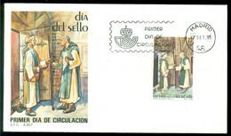 Spanien 27-9-1985 FDC Tag Der Briefmarke Nicht Adressiert - FDC