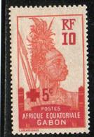 GABON 1915-7 * - Unused Stamps