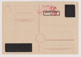 Behelfs-/Aufbrauchs-Not-GA,  P B04, Mengen, ++ - Zone Anglo-Américaine