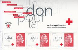 2018 France Red Cross Semi Postal Souvenir Sheet MNH @ Below Face Value - Ungebraucht