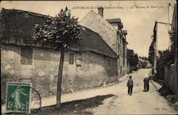 CPA Auvers Sur Oise Val D'Oise, La Maison De Daubiguy - Altri Comuni