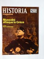 WW2 Magazine HISTORIA Guerre:Mussolini Attaque La Grèce-Vichy-Formation De L'armée D'armistice-Malte Martyre D'une Ile - History