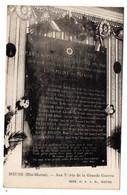 MEUSE --- Aux Morts De La Grande Guerre  ...................à Saisir - Sonstige Gemeinden