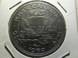 Portugal 100 Escudos 1989 Ilhas Canárias - Portugal