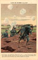 Faits De Guerre 1914-1915. Soldats Sauvant Leur Lieutenant. Dessin De Job - Guerre 1914-18