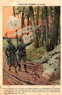 Faits De Guerre 1914-1915. Commandant Galvanisant Ses Hommes. Dessin De Job - Guerre 1914-18