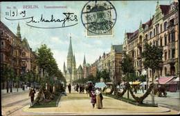 CPA Berlin Charlottenburg, Tauentzienstraße, Kaiser Wilhelm Gedächtniskirche - Otros