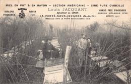 77 - LA FERTE SOUS JOUARRE - APICULTURE  - Louis Jacquart , Apiculteur Au Limon - (010) Voir Scan Recto Verso -SUPERBE - La Ferte Sous Jouarre