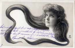 Femme Photo 924, Cheveux Longs Artiste Cabaret 1900 NPG 117/10 - Women